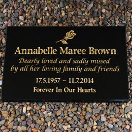 Granite Desk Marker
